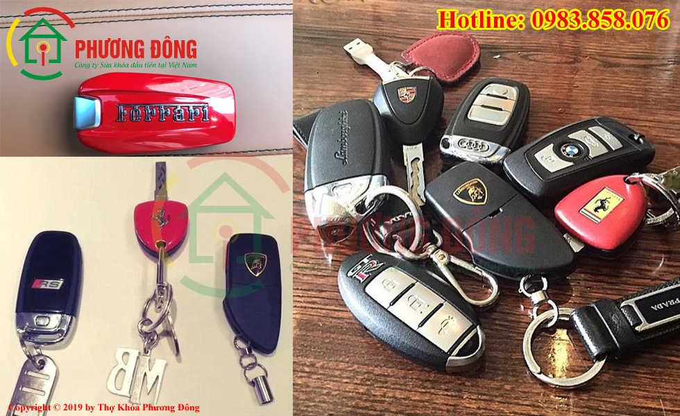 Phương Đông chuyên sao chép chìa khóa ô tô tại Ninh Bình