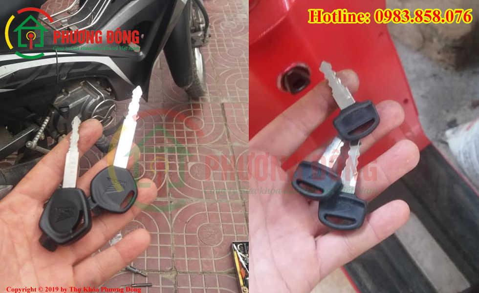 Phương Đông chuyên sửa khóa xe máy tại Quận Bình Tân