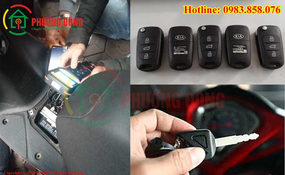 Phương Đông sửa tất cả các loại khóa xe tại Quận Bình Tân