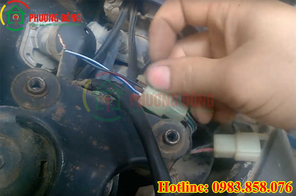 cách nổ máy xe khi mất chìa khóa
