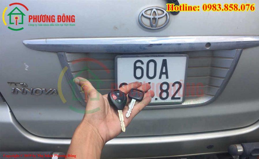 Thợ khóa Phương Đông đã đánh chìa khóa thành cho khách hàng tại Đồng Nai