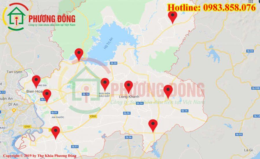 Địa chỉ thợ sửa khóa lưu động tại Đồng Nai