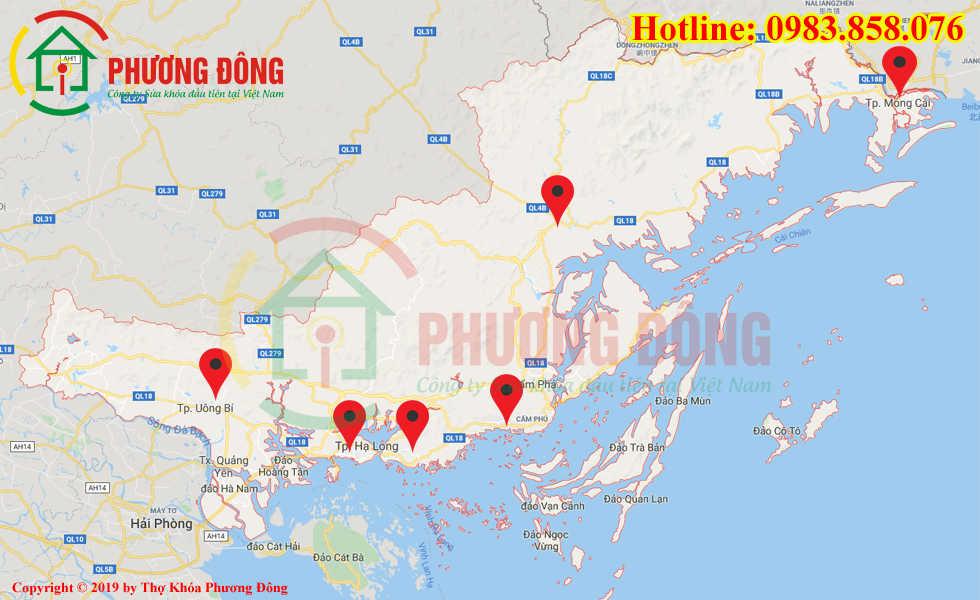 Địa chỉ thợ sửa khóa lưu động tại Quảng Ninh