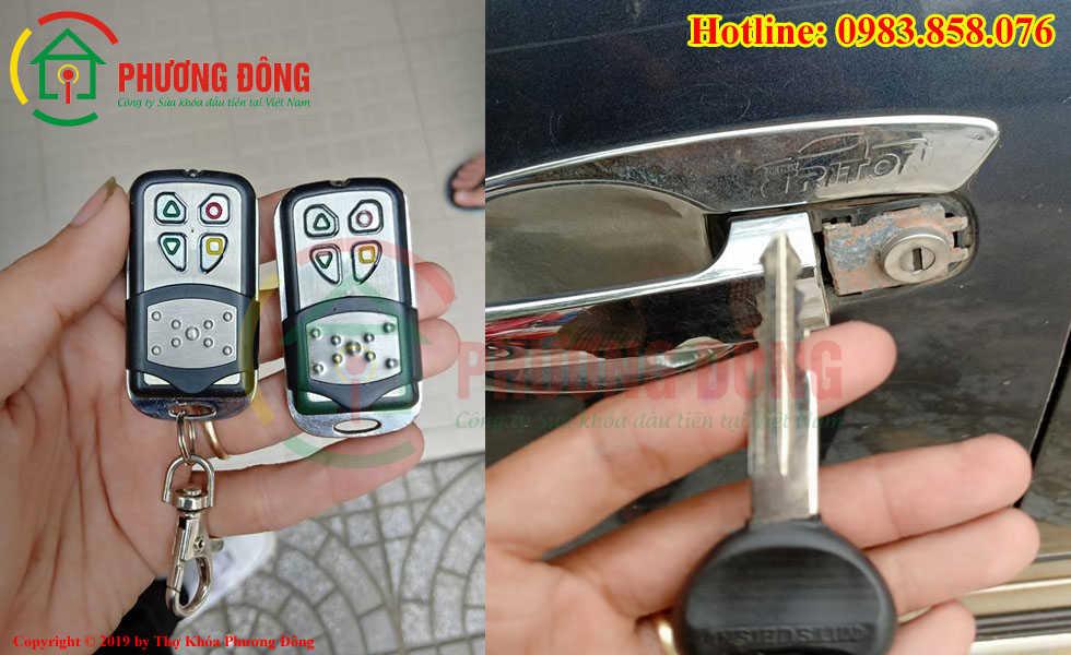 Làm chìa khóa ô tô cho khác ở Quảng Bình