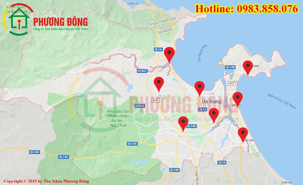 Địa chỉ thợ sửa khóa lưu động tại Đà Nẵng