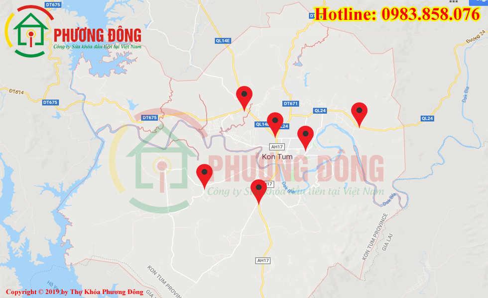 Địa chỉ thợ sửa khóa lưu động tại Kon Tum