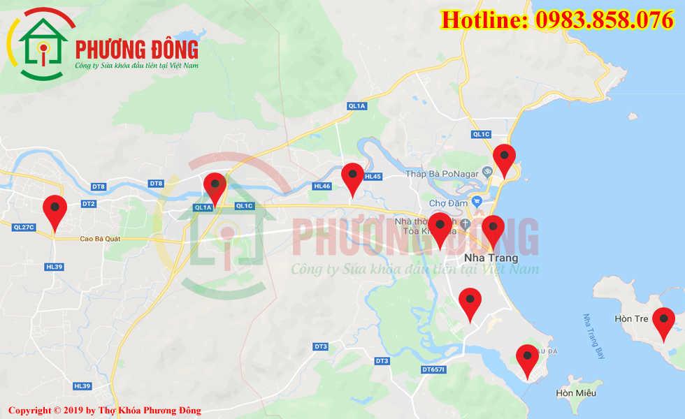 Địa chỉ thợ sửa khóa lưu động tại Nha Trang