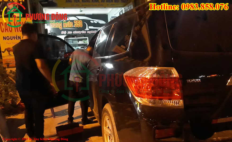 Thợ mở khóa ô tô tại Lào cai