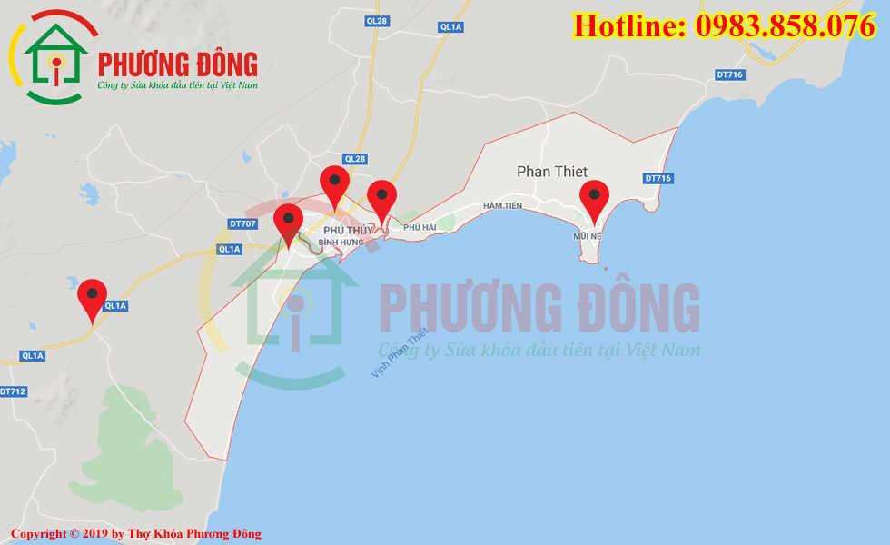 Địa chỉ thợ sửa khóa lưu động tại Phan Thiết