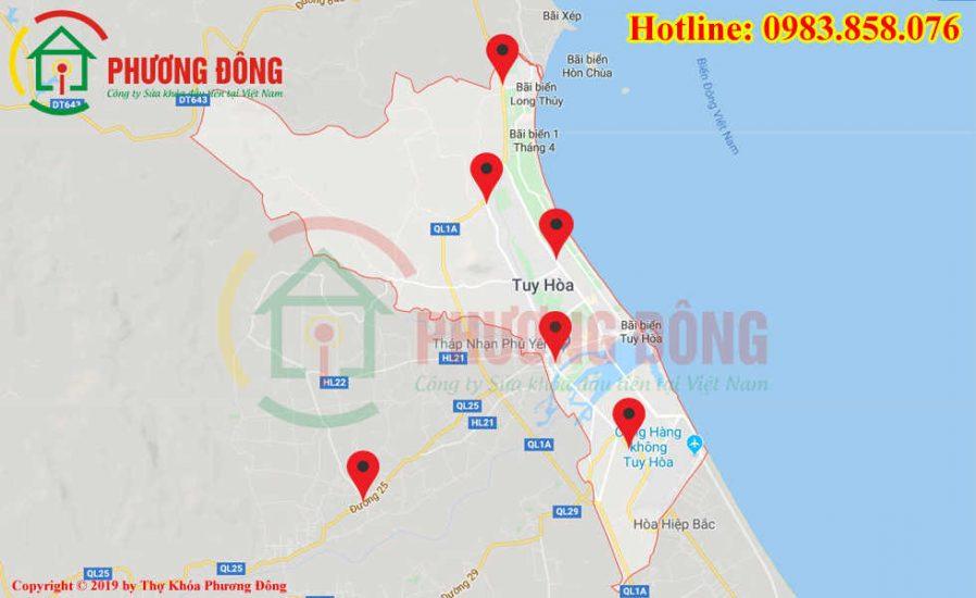 Địa chỉ thợ sửa khóa lưu động tại Tuy Hòa