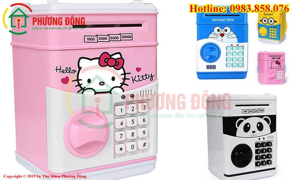 Hướng Dẫn Sử Dụng Két Sắt Mini Hello Kitty Cho Những Ai Chưa Biết ?