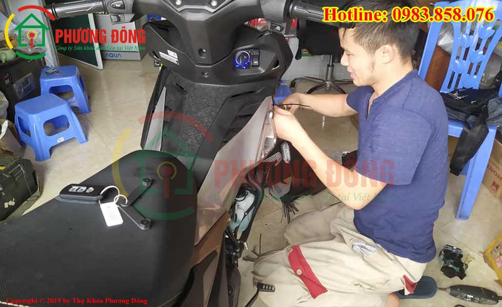 Lắp Ổ khóa Smartkey Honda cho Winer X