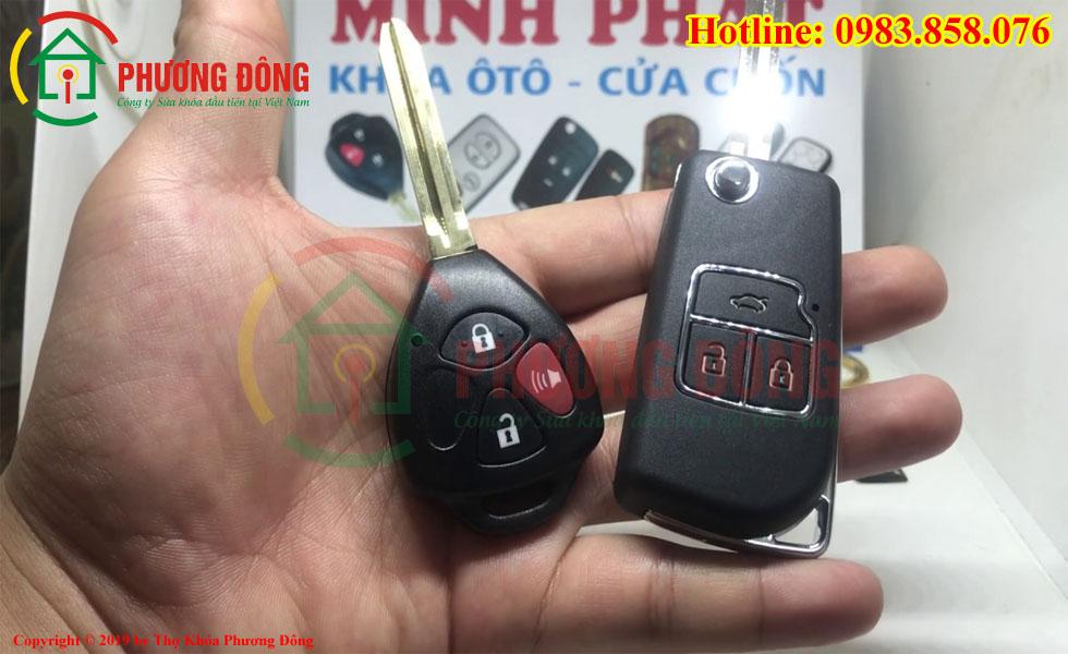 Chìa khóa Toyota Altis