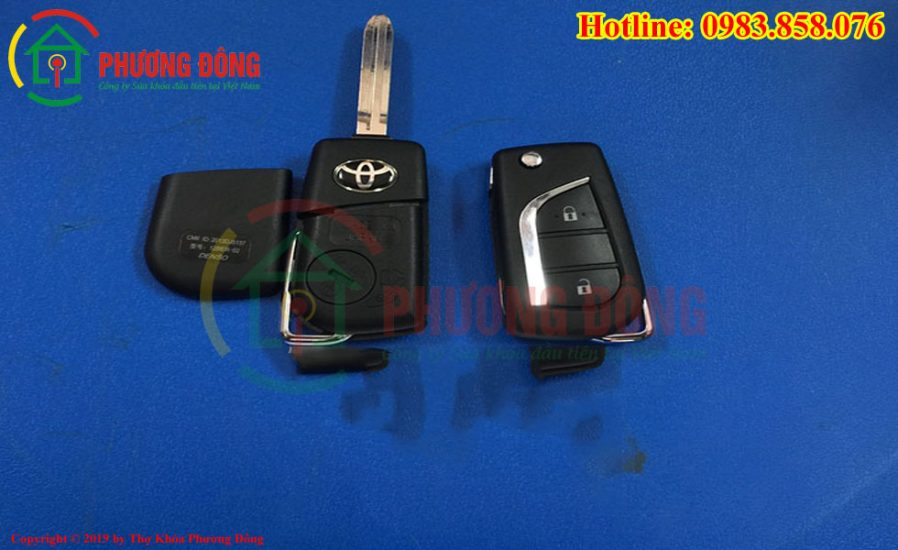 Chìa khóa ô tô Vios