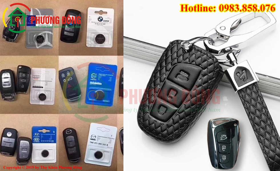 Đánh chìa khóa ô tô và thay pin ô tô tại Vinh