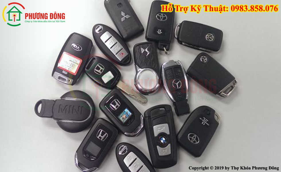 Phương Đông sửa tất cả các loại khóa xe ở Thuận An