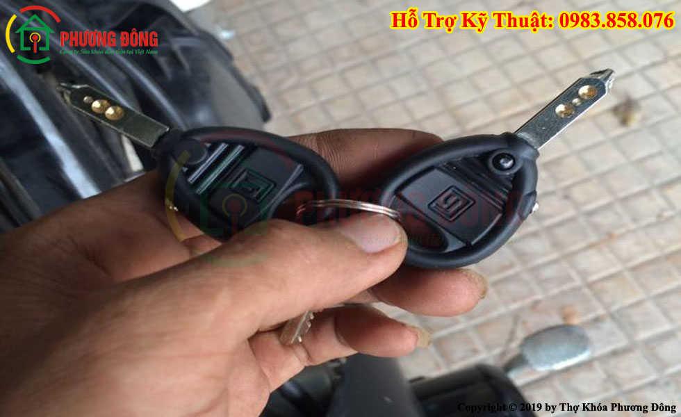 Sửa khóa xe máy tại Cà Mau