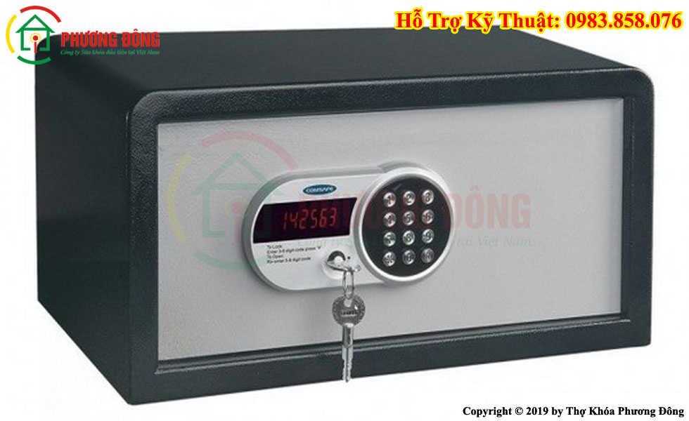 Cách sử dụng két sắt khách sạn có LCD