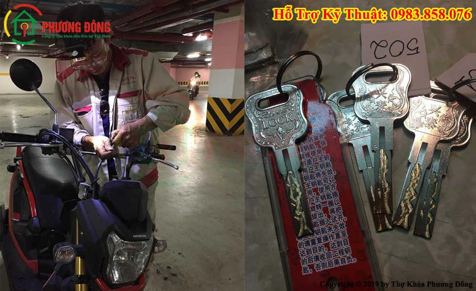 Sửa khóa xe máy tại Cần thơ