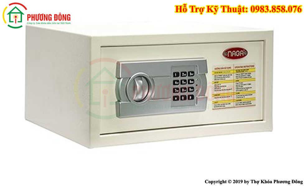 Cách sử dụng két sắt khách sạn không có LCD