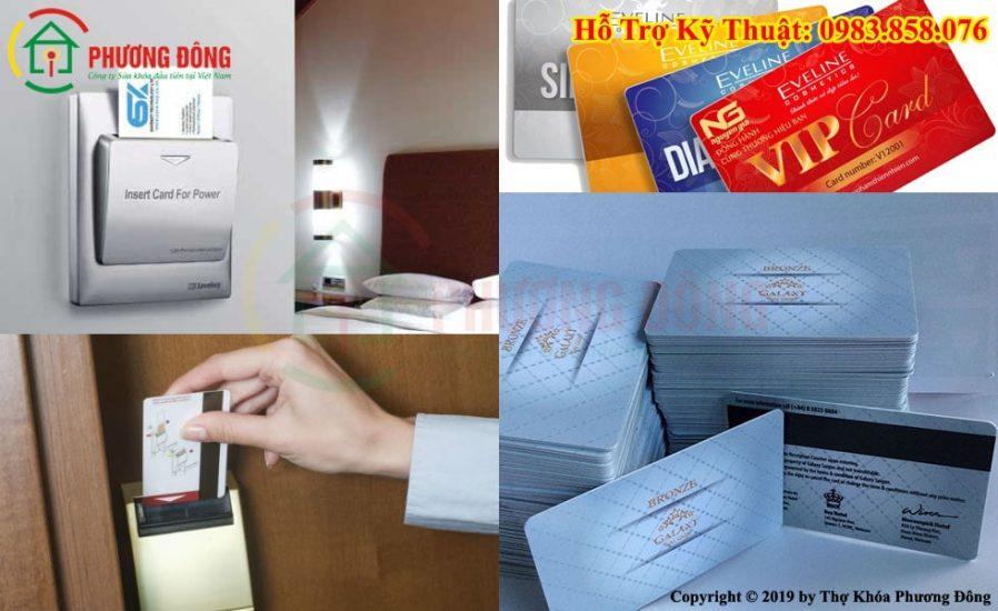 Làm thẻ từ khách sạn