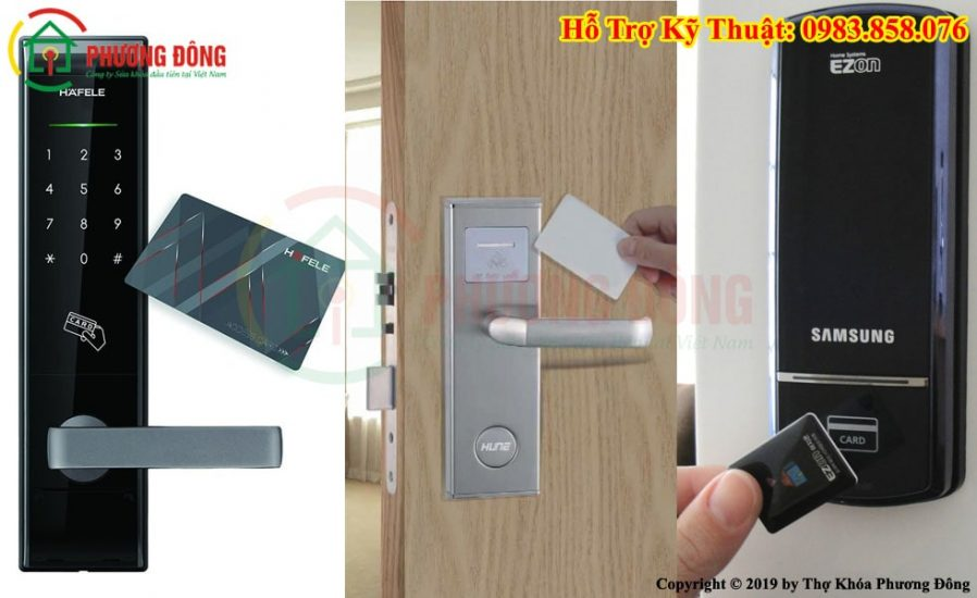 Làm thẻ từ khóa cửa