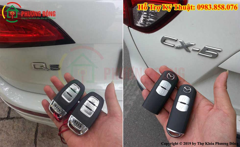 Làm chìa khóa xe hơi thông minh