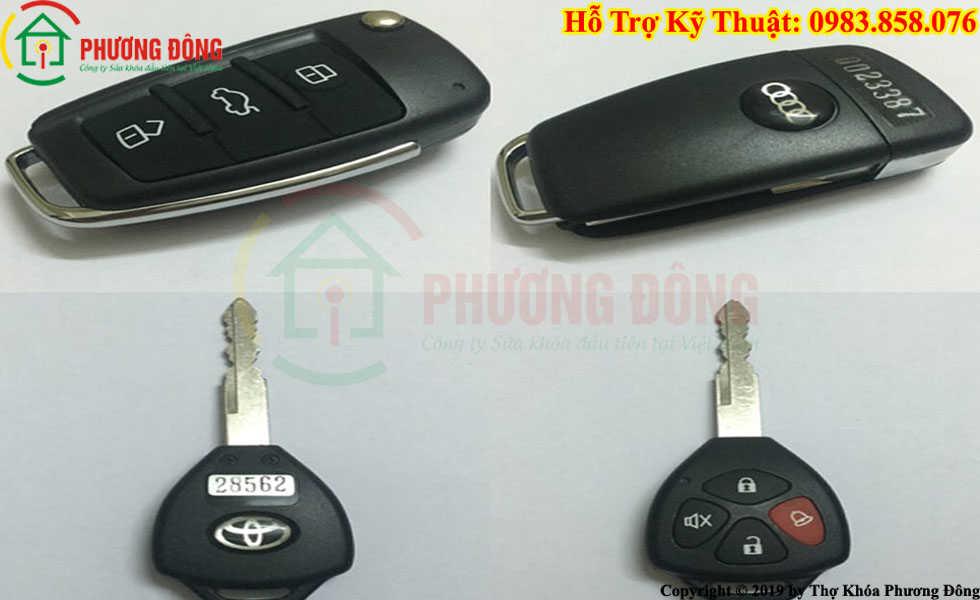 Phương Đông sửa tất cả các loại khóa xe ở Chí Linh