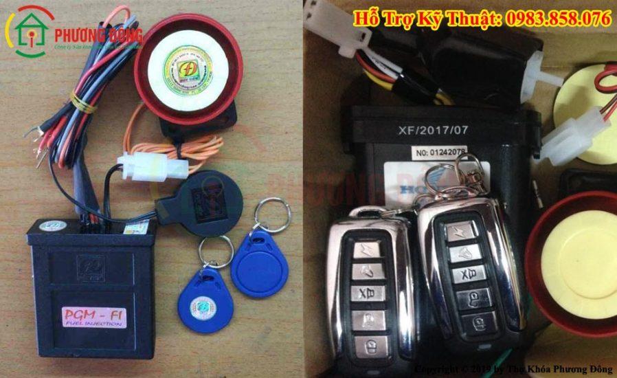 sửa khóa chống trộm xe máy điện