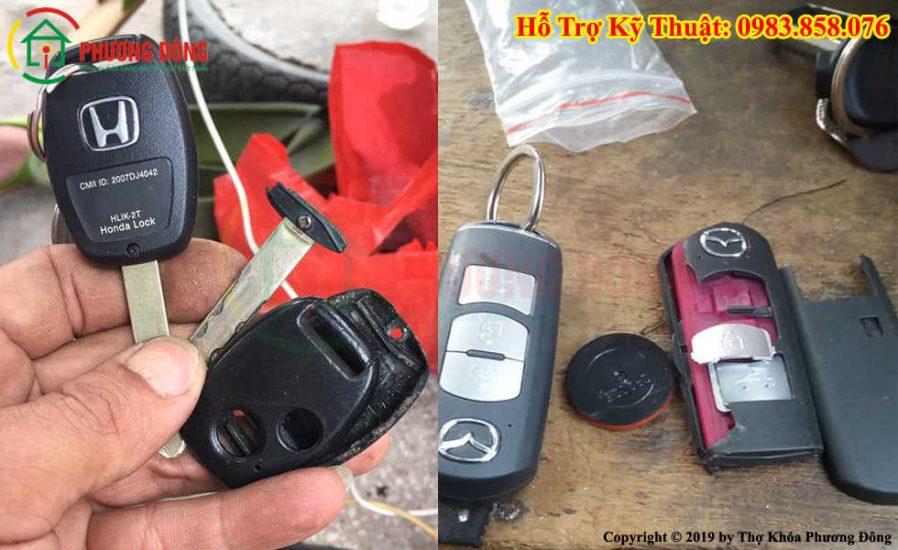 Sửa chìa khóa điều khiển từ xa xe ô tô