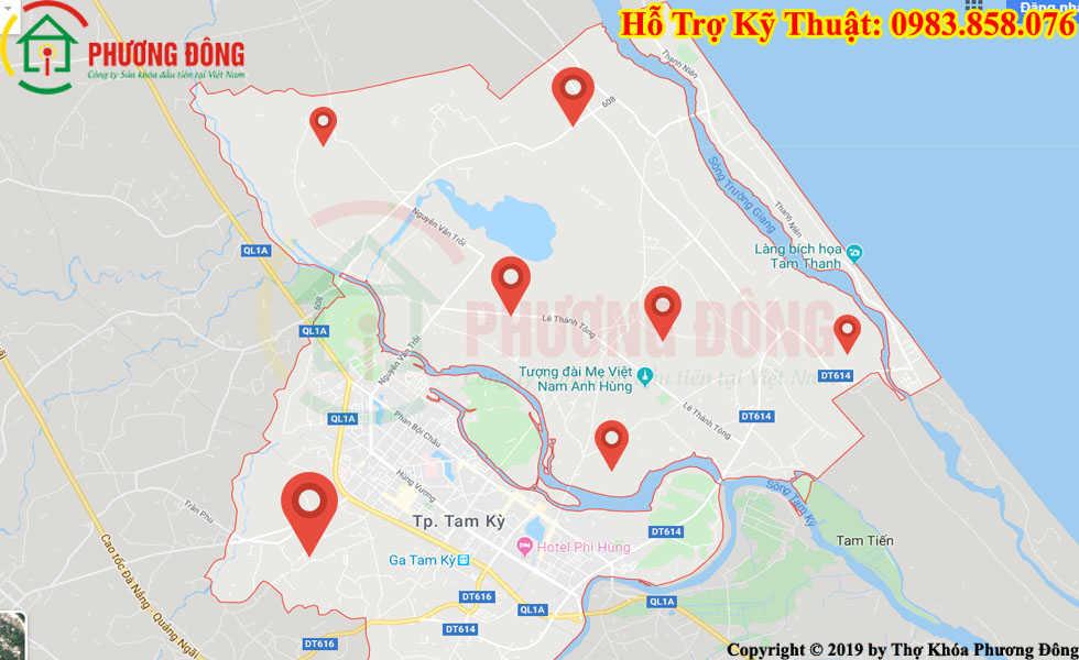 Địa chỉ thợ sửa khóa lưu động tại Hải Châu