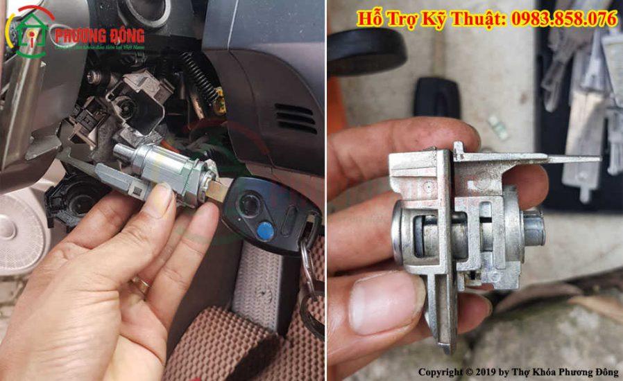 Sửa ổ khóa xe ô tô