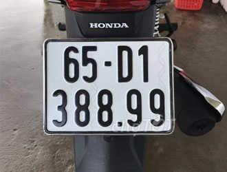 Biển số xe 65 ở đâu