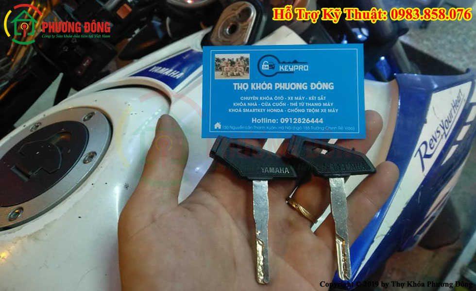 Sửa Khóa Fz150i Đánh Chìa Khóa Xe Fz150i Yamaha Bị Mất Hết Chìa