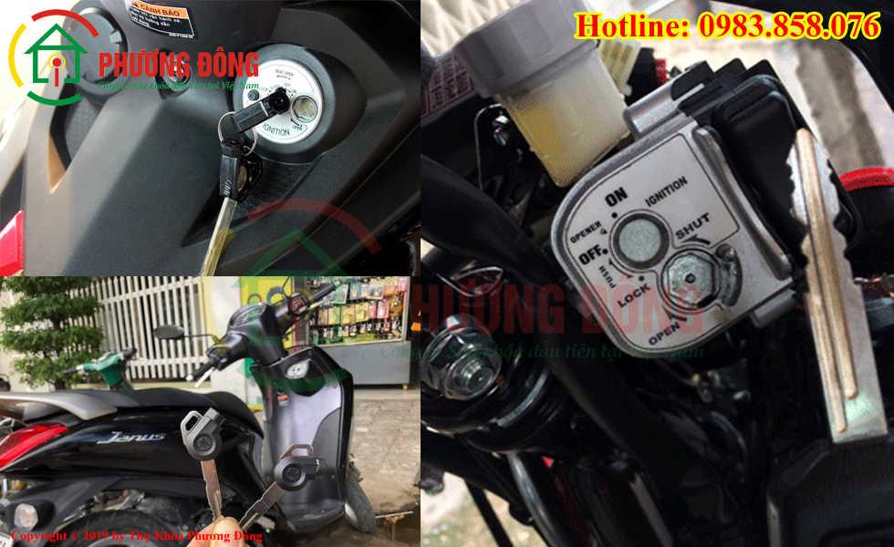 Phương Đông chuyên sửa khóa xe máy tại Quận Tây Hồ