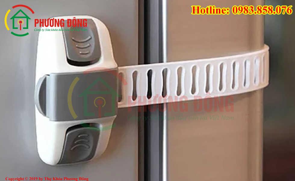 khóa tủ lạnh điều chỉnh