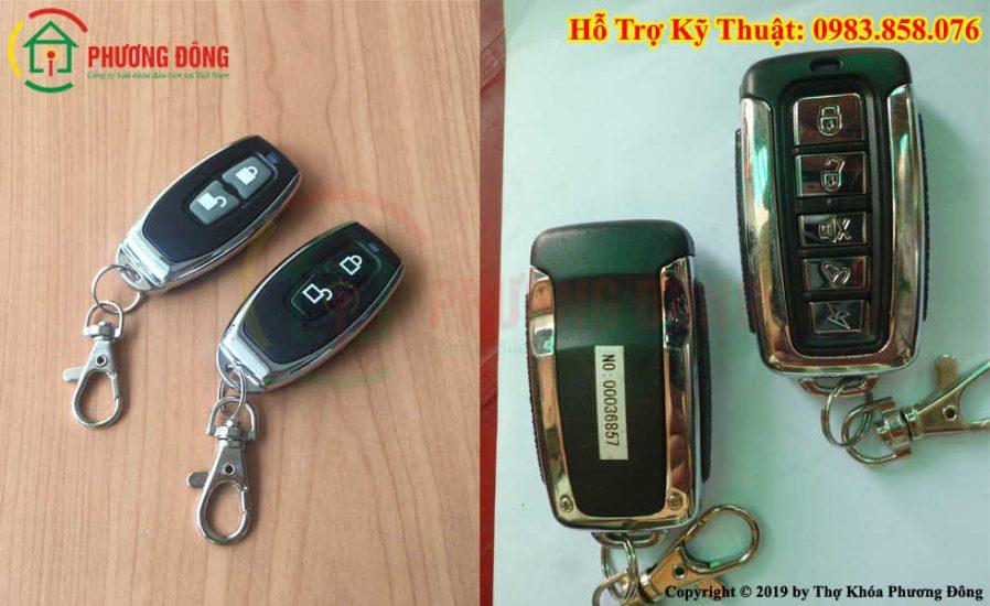 Thay pin chìa khóa chống trộm xe máy