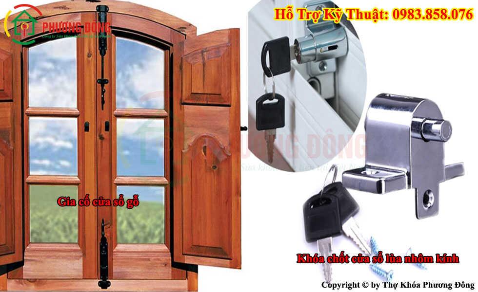 Cách gia cố cửa sổ chống trộm
