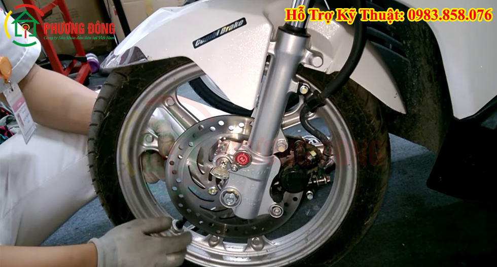 Khóa đĩa xe máy