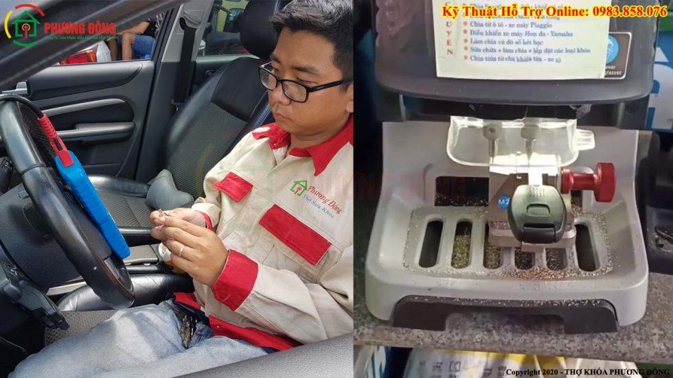 Kỹ thuật cài chìa khóa và Máy cắt chìa khóa tự động CNC