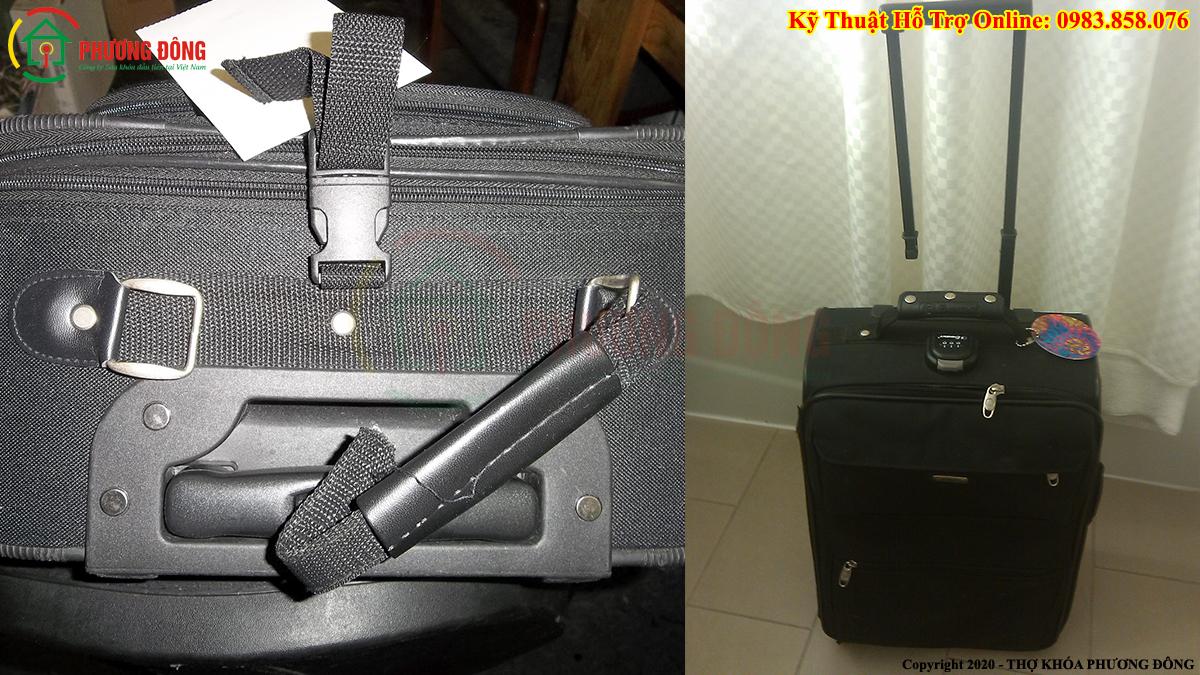 tay kéo vali hỏng