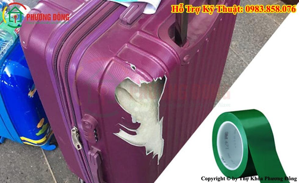 Sửa vali kéo bị vỡ