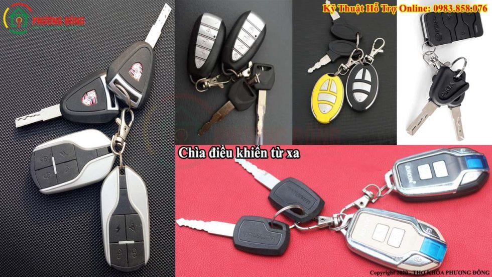 Chìa điều khiển từ xa xe máy điệnn