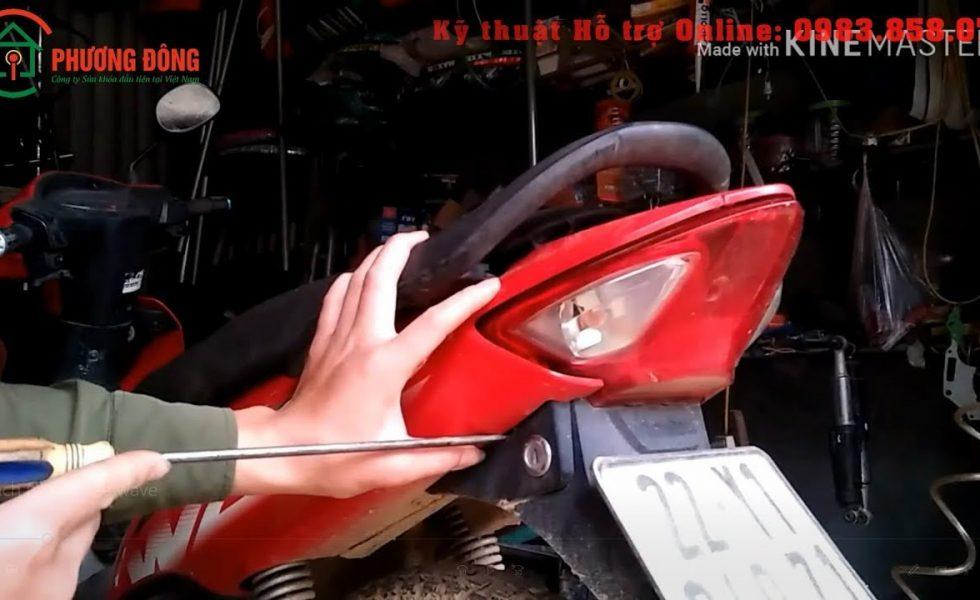 Top 10 Cách Mở Cốp Xe Wave Rsx Rs S 110 Bị Kẹt Mất Chìa Full