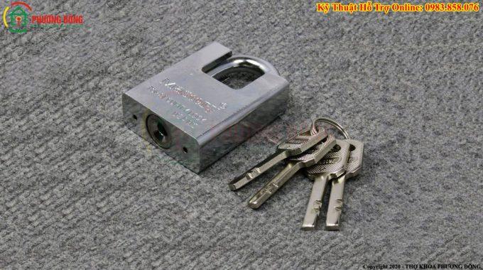 Khóa Bấm Chìa Vuông