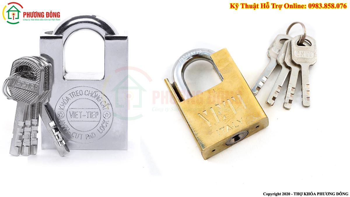 một số dạng khóa bấm chìa Vuông