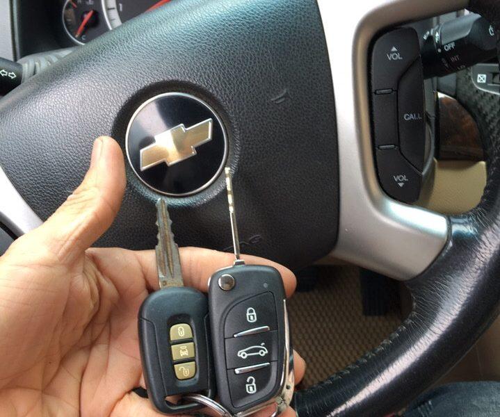 Làm Chìa Khóa Captiva Cho Xe Chevrolet Chính Hãng, Giá Tốt Nhất