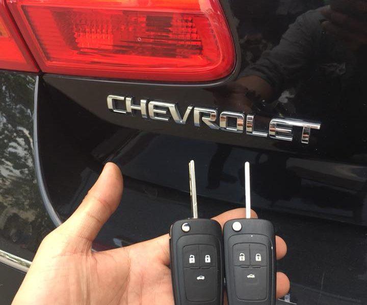Làm Chìa Khóa Xe Chevrolet Cruze Chất Lượng Cao Uy Tín Giá Tốt Nhất