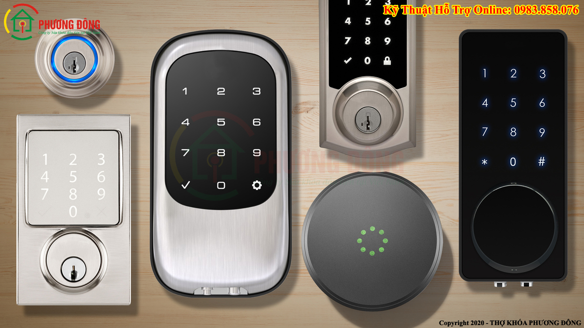 Một số loại khóa Smartlock
