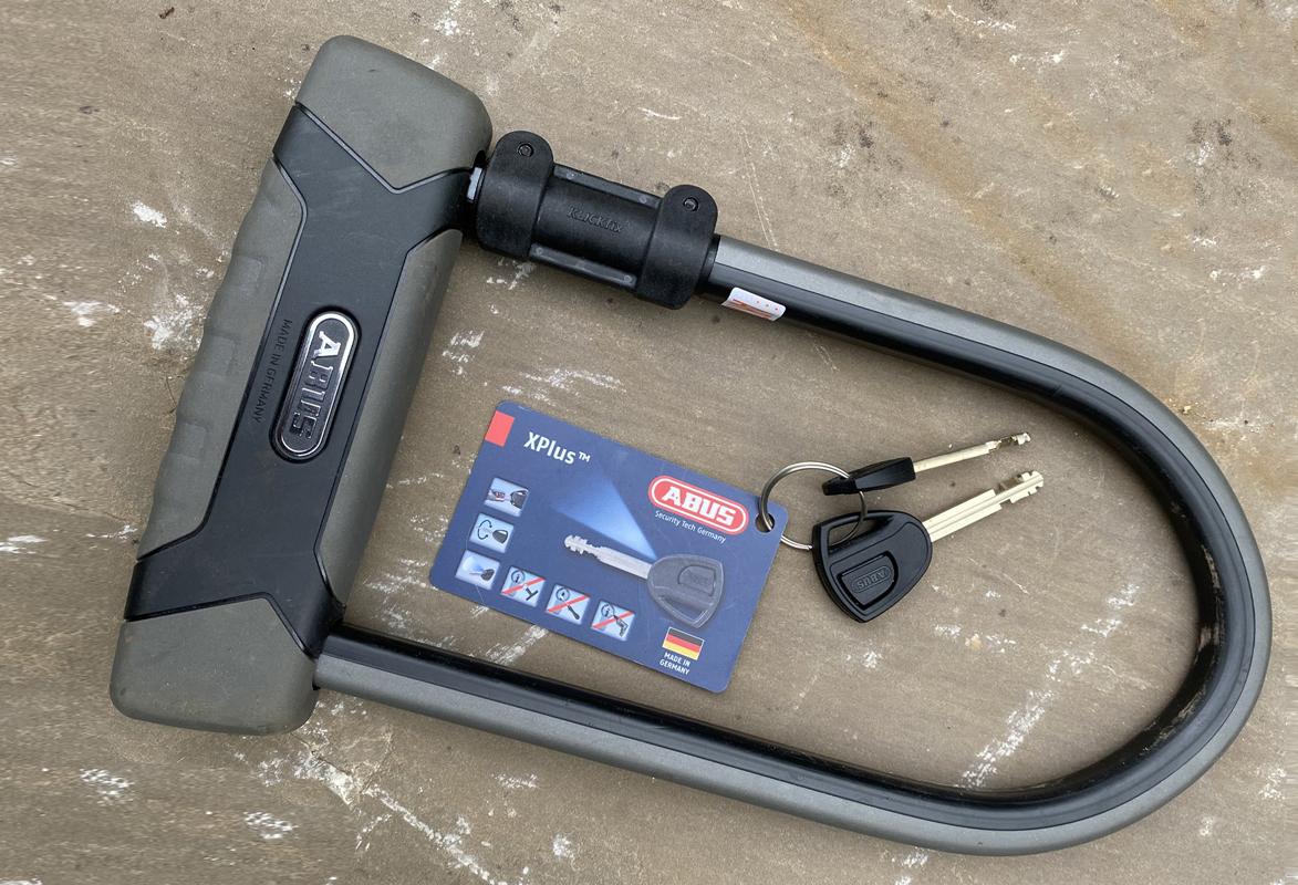 Khóa chữ U chống trộm ABUS Granit X - Plus 540